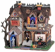 Lemax 65438 BOOGIEMEN'S HANGOUT Spooky Town Building Animated Halloween Decor I