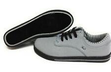 Mens Vlado Spectro 3 IG-1063-302 Grey Black Canvas Sneakers Shoes