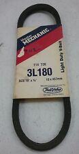 MASTER MECHANIC LIGHT DUTY V-BELT 114736 3L180