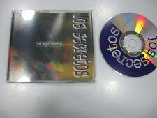 LOS SECRETOS CD SINGLE SPANISH ME ALEGRO DE VERTE 1994