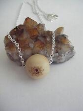 Spiritual Inspirational LOTUS Necklace Minimalistic ECO Wood Bead Yoga/Zen