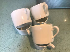 SET OF SIX QUALITY CERAMIC EXPRESSO COFFEE CUPS CUP GENUINE LIQUIDATED CLEARANCE