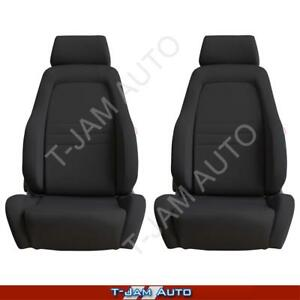 Explorer 4x4 4WD Bucket Seat Pair 2 x Black Cloth ADR Approved Ford Territory