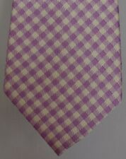 "Kiton Napoli Mens 7 Fold Handmade Woven Silk Tie NEW 59"" X 3.5"" SKU B32/86 $290"