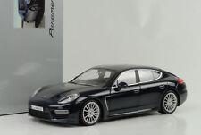 2013 Porsche Panamera turbo S darkblue metallic 1:18 Minichamps WAP