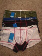 PINK HEROES Men's Sexy boxers underpants pack of 4 XL NEW