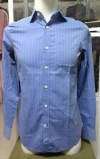 G Star RAW Correctline Dress Shirt L/S in Track Blue, Size L BNWT $130