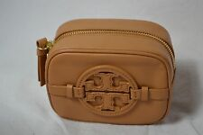 Tory Burch cosmetic case beige logo Small