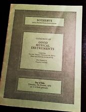 Sotheby's Musical Instruments 3 catologues. Vintage 1976.Lot of 3 for $15.00.