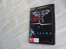 THE CROW 'BRANDON LEE' - SPAWN 'DIRECTOR'S CUT' - REGION 4 PAL - 2 DISC DVD