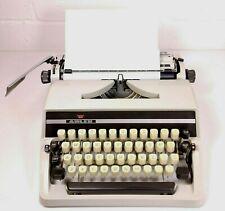 Vintage Adler J2 West Germany Portable Typewriter Tested Working
