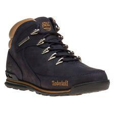 New Mens Timberland Blue Euro Rock Hiker Nubuck Boots Lace Up