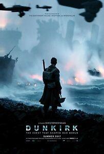 Dunkirk 2017 Nolan Movie Poster Print A0-A1-A2-A3-A4-A5-A6-MAXI 372