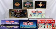 Lot of 8 Monopoly Games-Monopoly, Coke, Alaska, Deluxe & More. NIB, No Reserve.