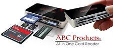 Todo En 1 Multi lector USB de Tarjetas de Memoria SD SDHC Mini Micro M2 MMC XD CF T-Flash