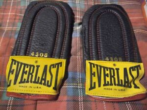 VINTAGE EVERLAST #4308 WEIGHTED SPEED BAG BOXING TRAINING GLOVES