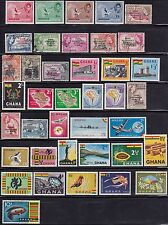 Ghana Collection Lot  Sc#1-35,48-60,61-77~
