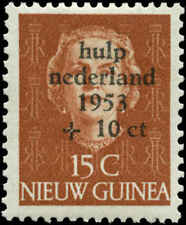 Netherlands New Guinea Scott #B2 Mint  Cats $12