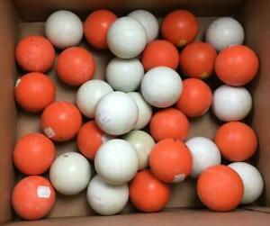 Vintage Never Used Brine Lacross Official NCAA Approved Balls Lot of 34 1990's