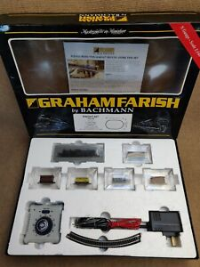 Graham Farish Bachmann N Gauge 370-175 Freight Train Set Loco 44143 + Extras! +
