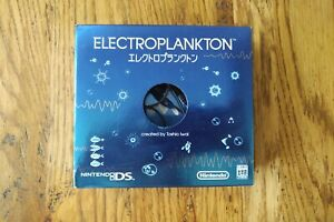 Electroplankton for Nintendo DS with earphones and original packaging