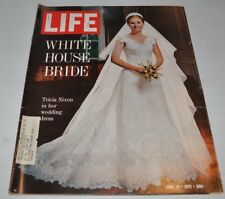 LIFE Magazine June 18 1971 White House Bride TRACIA NIXON cover