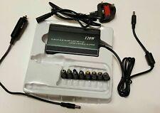 12V/15V/16V/18V/19V/20V/22V/24V 120W Max Universal Adapter Charger Power Supply
