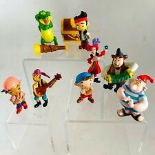 Disney Jake & the Neverland Pirates Cake Topper PVC Plastic Toys Figures