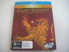 Game Of Thrones: Second Season Two 2 - Rare Lannister Slipcover 6-Disc Blu-Ray