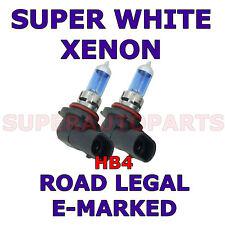 HYUNDAI COUPE 1996-1999 2 X HB4 SUPER WHITE XENON LIGHT BULBS