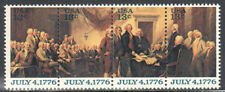 SC#1694a - 13c Declaration of Independence Block of 4 MNH