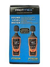 Sound Level Meter Digital Reader Microphone Measurement Range 30 130 Protmex New