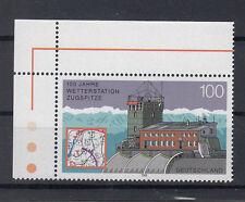 BRD Briefmarken 2000 Wetterstation Zugspitze Mi.Nr.2127** postfrisch Ecke