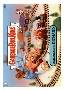 2006 Garbage Pail Kids All-New Series 5 #38a Railroaded Richard - NM-MT