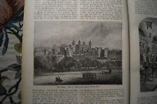 1880 neue Welt  5 Maler Souchon London Tower England