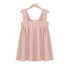 Camisas y tops de mujer 100% algodón sin mangas