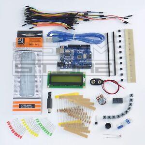 STARTER KIT scheda UNO compatibile con arduino - CH340  - ART. CU01