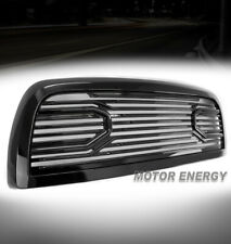 For 10-18 Dodge Ram 2500 3500 4500 Big Horn Hood Upper Grille Shell Gloss Black