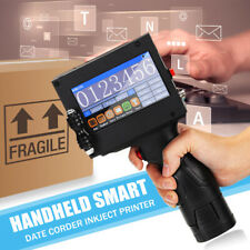 Hand Held Smart Inkjet Printer Jet Printing Date QR Code Coding Marking Machine