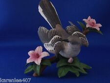 "Lenox Bird Figurine Northern Mockingbird 4 1/2"" Excellent Condition !"