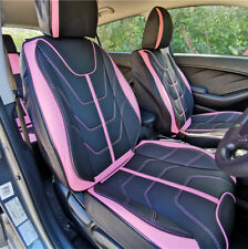PREMIUM Pink LEATHER Car Seat Cover fits Mitsubishi Lancer Outlander ASX Triton