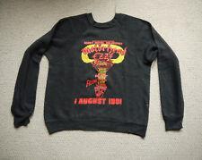 Rare Original Vintage 1981 Heavy Metal Holocaust Sweatshirt Motorhead Ozzy Riot