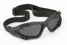 Viper Tactical Green Mesh Glasses/Goggles Paintball Army BB LARP Cosplay