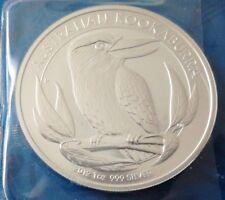 Kookaburra 2012 Australien unberührt 1onza Silber 1 Unze 999/1000 Fine Silver