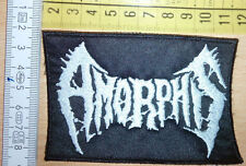 AMORPHIS MELODIC DOOM METAL WOVEN PATCH