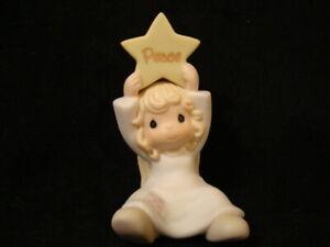 Precious Moments-Mini Nativity Addition-Angel/Star-2001 RETIRED