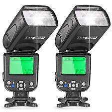 Neewer 2pz I-TTL Flash Speedlite NW-562 per Nikon D7200 D7100 D7000 D5200 ecc.