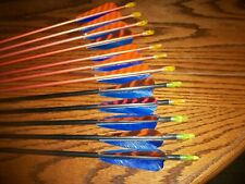 One Dozen Vintage 1713 And 1716 Mix Aluminum Arrows