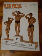 THE REG PARK JOURNAL muscle bodybuilding magazine HENRY DOWNS 7-57