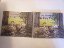 The Ugly Duckling, Hans Christian Andersen, DJ, Johannes Larsen art, 1955